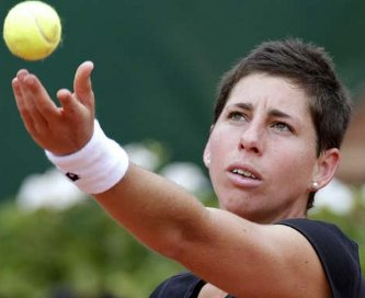 Carla Suarez enfrenta a Serena Williams