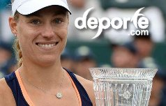 Angelique Kerber gana copa Family Circle 2015