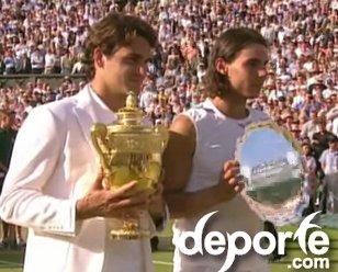 Tenis Finales del recuerdo Wimbledon 2007
