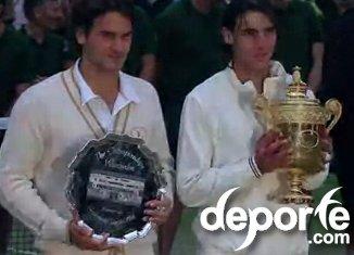 Final de tenis Wimbledon 2008 Nadal Federer