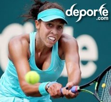 Madison Keys a la semifinal de Family Circle Cup
