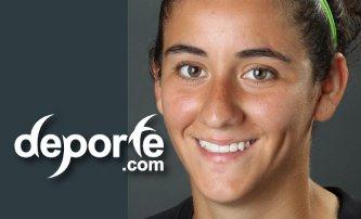 Ariana Calderon anota el solitario gol de Mexico